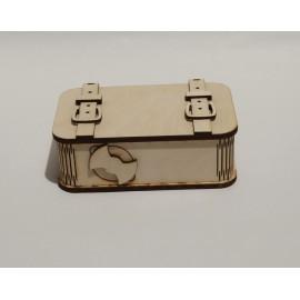 Bőrönd alakú persely